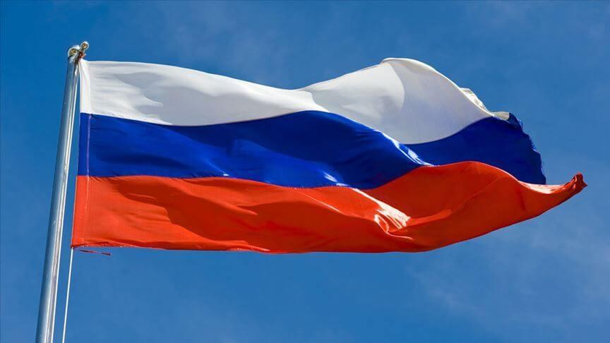rus rusya bayrak